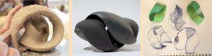 Kugel Keramik Skulptur