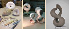 Unendliche Schleife Lemniskate liegende 8