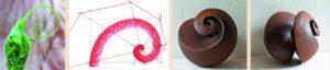 Dynamische Skulpturen aus der Spirale