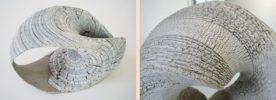 Skulpturen aus Ton Wasserglas
